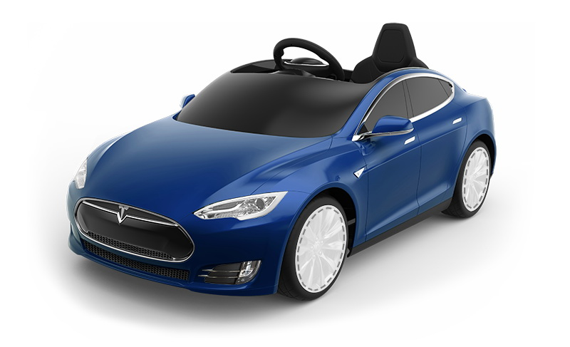 A $500 Tesla Model S Electric Toy Car For The Kid Who Has ...