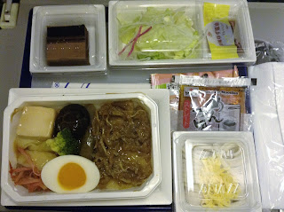 all nippon airways meal from narita to manila