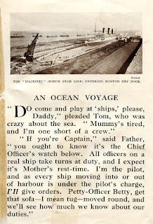White Star Line Majestic at Boston Dry Dock