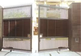 Pintu pagar minimalis 2 pintu  tipe lipat