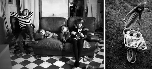 идеи для хюгге, хюгге ностальгия, воспоминания о хюгге, как создать хюгге, фотоальбом хюгге, французский фотограф Ален Лебуаль, счастливое детство шестеро детей - DayDreamer Blog