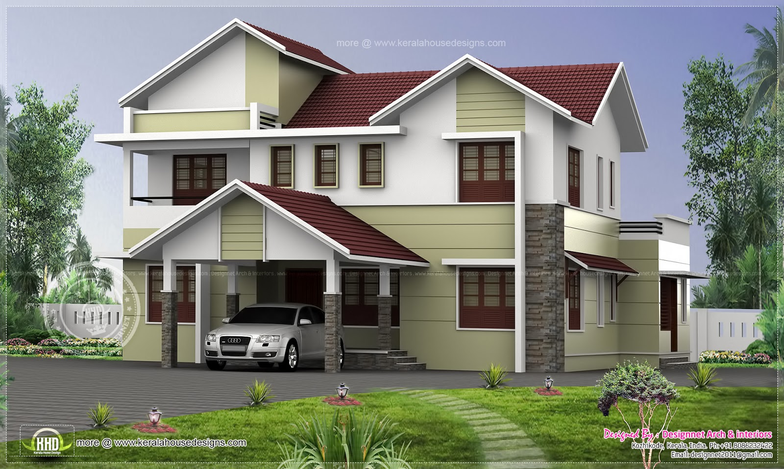 4 Bhk House In 2870 Square Feet House Design Plans