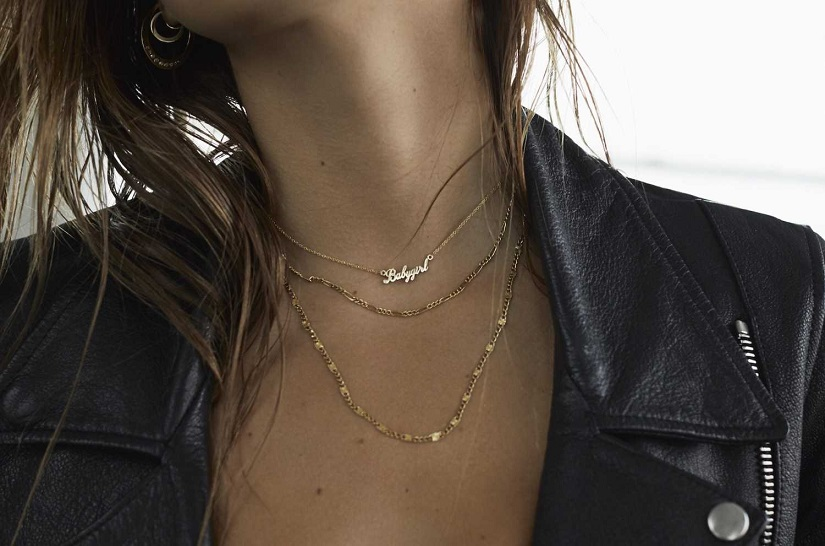 Alexis Ren in Logan Hollowell Jewelry Photoshoot