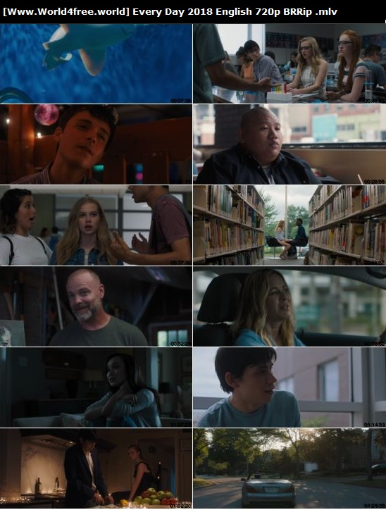 Screen Shoot of Every Day 2018 Full English 720p BRRip 900MB Download