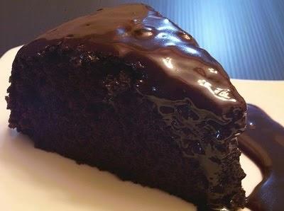Kek Coklat Kukus Lembab