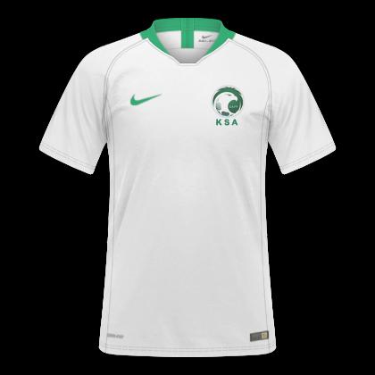 f6b6bf5f9 GT Camisas  Camisas Arábia Saudita 2018   2019 - Home e Away