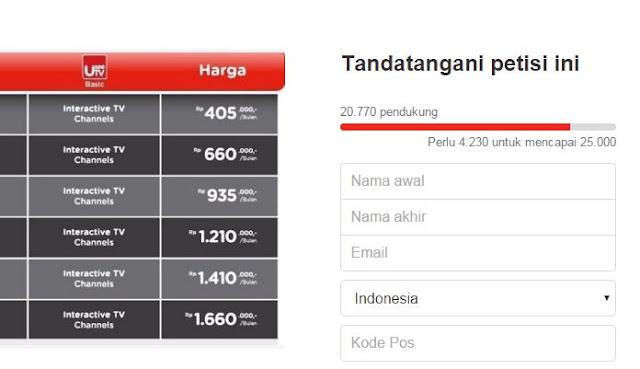 Permasalahan Internet Indihome Berujung 20.770 Petisi