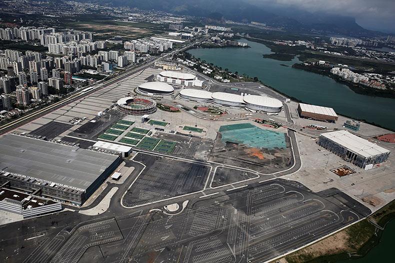 Las Instalaciones Olímpicas de Río de Janeiro se están cayendo solo 6 meses después de los Juegos