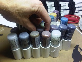 PVC Pipe Paint Storage by Ron's Papercraft Blog