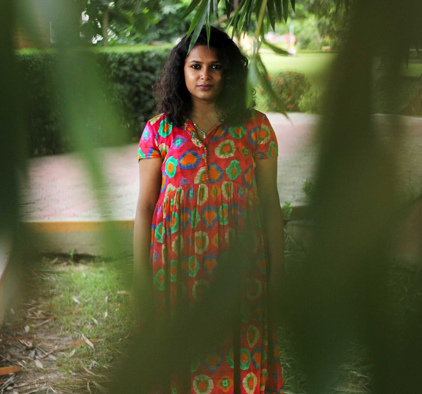 Live Laugh Dressup - Slow Fashion - Sustainable Fashion - Boho Fashion Blogger - Fuschia Pink Maxi Dress - Kolkata Fashion Blogger - Indian Fashion Blogger - Kolkata Street Style