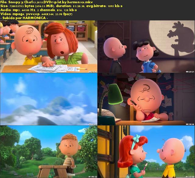 Descargar Snoopy y Charlie Brown: Peanuts, La Película Latino por MEGA.