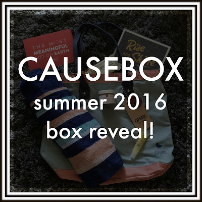summer CAUSEBOX reveal!