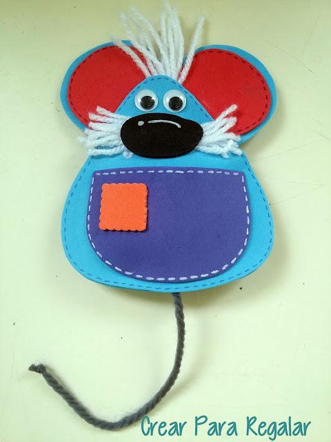 manualidades ratón pérez