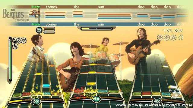 The Beatles Rock Band [Jtag/RGH] - Download Game Xbox New Free