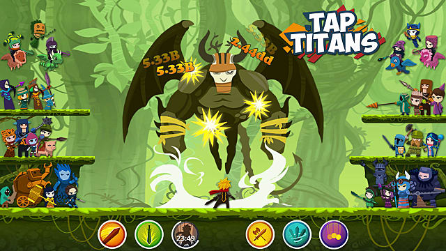 Download Tap Titans 2 full Mod Apk 2