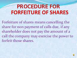 Procedure-for-Forfeiture-of-Shares