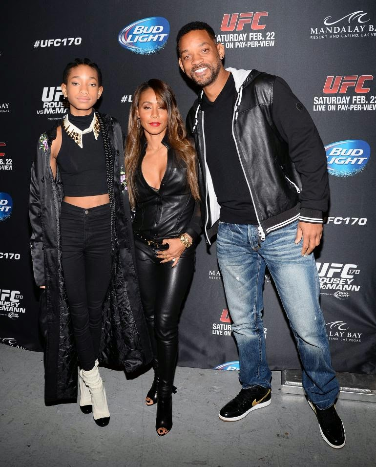 Will & Jada Pinkett Smith Reportedly Under Investigation By Child Services For Willow Pic