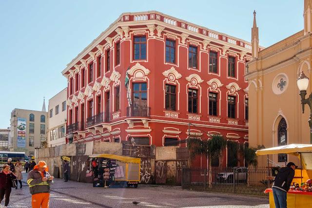 A antiga Casa de Ferragens Hauer