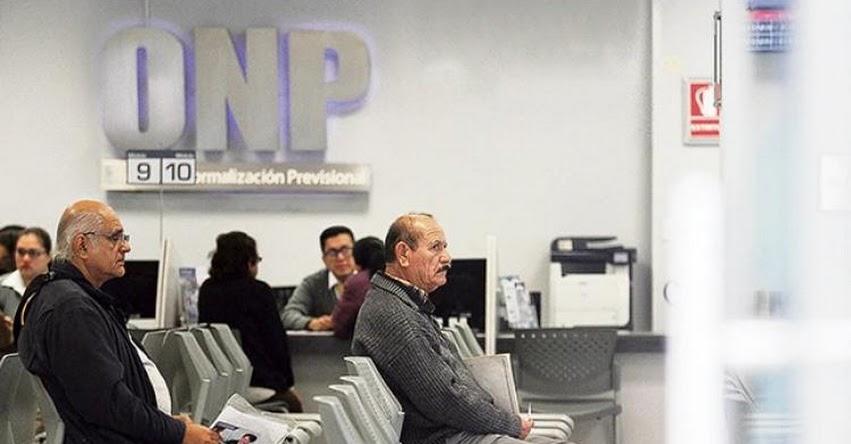 Congreso debate hoy sobre devolución del 100% de aportes a la ONP