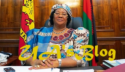 Ex President Joyce Banda of Malawi returns home after 4 years in exile