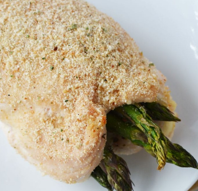 ASPARAGUS STUFFED CHICKEN #vegetarian #chikenrecipe