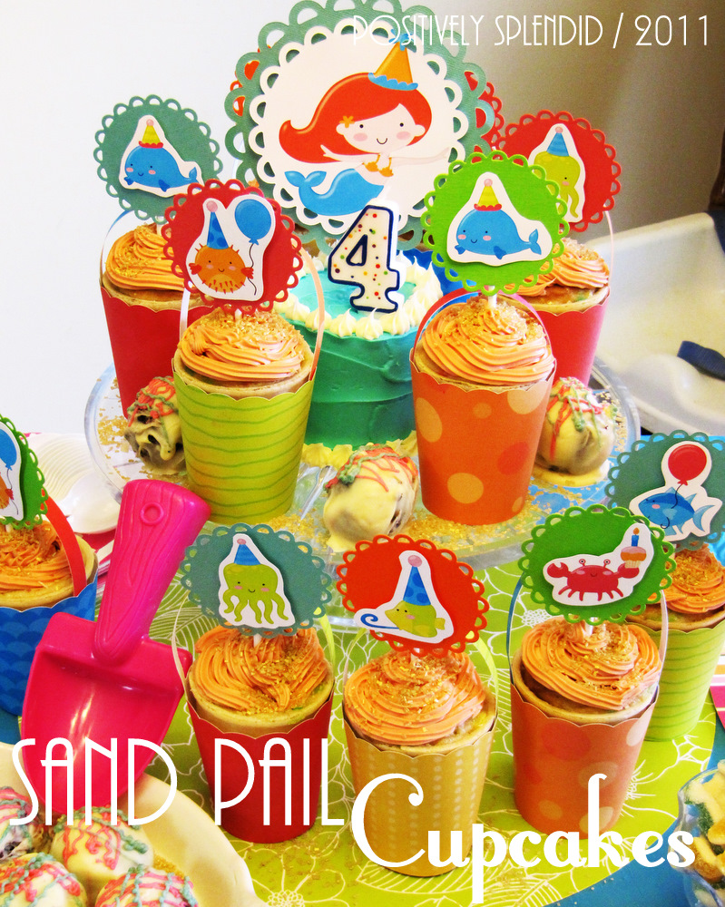 Sand Pail Ice Cream Cake