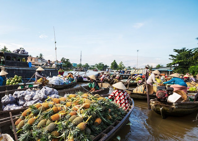 Feeling fruity in the Mekong Delta, Vietnam