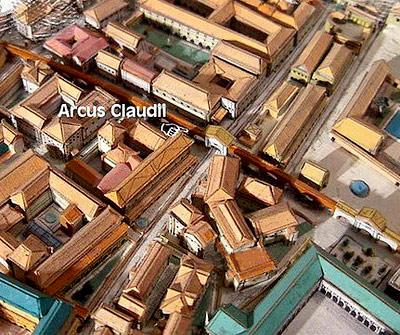Arco di claudio - Via di porta maggiore 51 roma ...