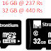 Strontium Nitro 16 GB In 237 Rs & 32 GB In 440 Rs Of Class 10 Memory card with speed 65MB/s @ AskMeBazaar