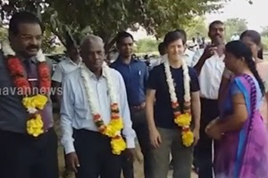 Intirapuram – Muhamalai lands handed over today to the public