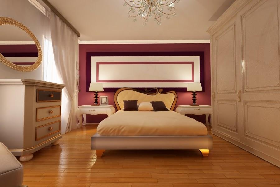 Design interior dormitor classic