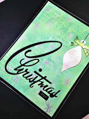 Sara Emily Barker http://sarascloset1.blogspot.com/ Retro Christmas Card Christmas Joy 4