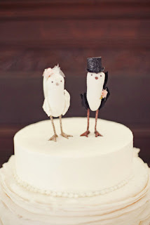 Special Bird Wedding Cake Topper