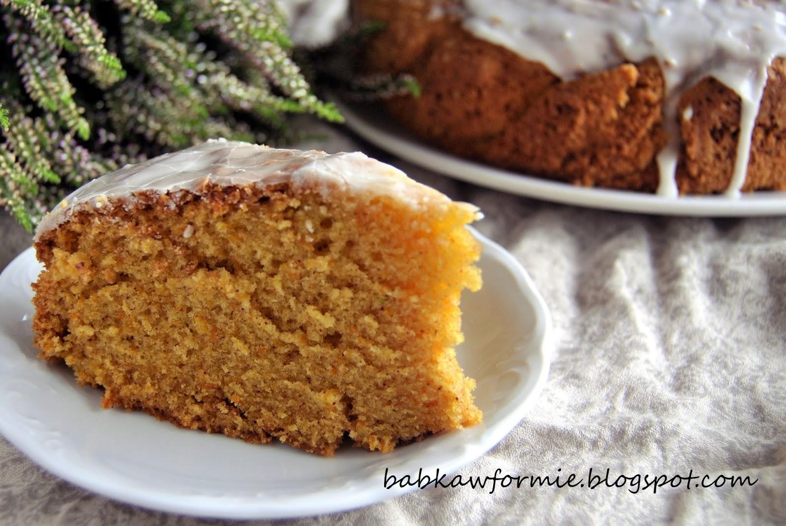 ciasto marchewkowe - kuchnia regionalna (Kujawy) babkawformie.blogspot.com