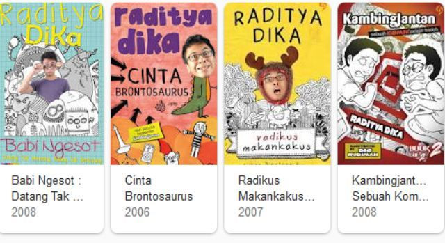 Download Buku (Ebook Gratis) Raditya Dika PDF Lengkap