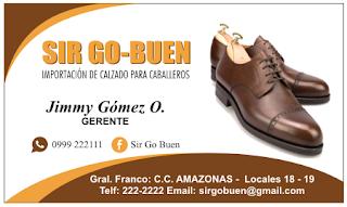 Tarjetas de negocio zapatos de hombre