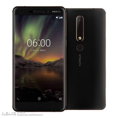 Nokia 6 2018 image