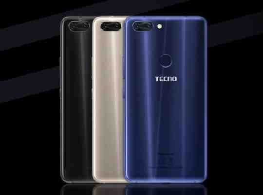 Tecno Phantom 8 colours