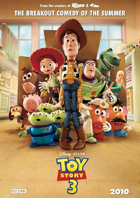 Disney Pixar's Toy Story 3 - Movie Poster
