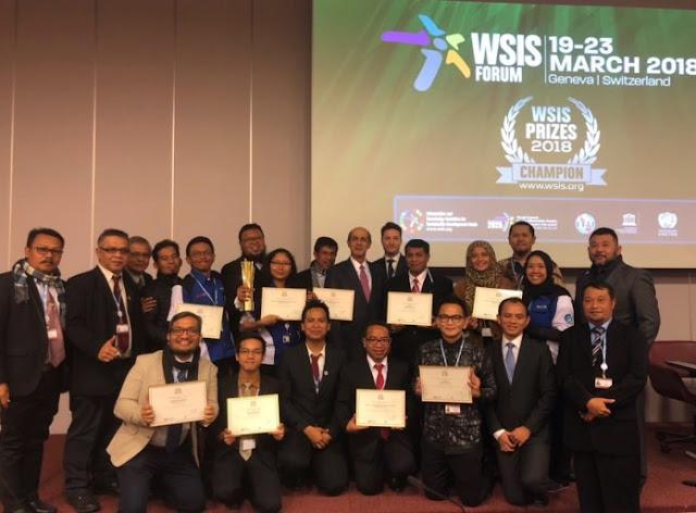 Keren! Indonesia Sabet 12 Penghargaan PBB di Bidang Teknologi Informasi dan Komunikasi
