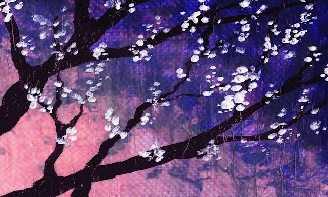 purple artwork by Irina Sztukowski