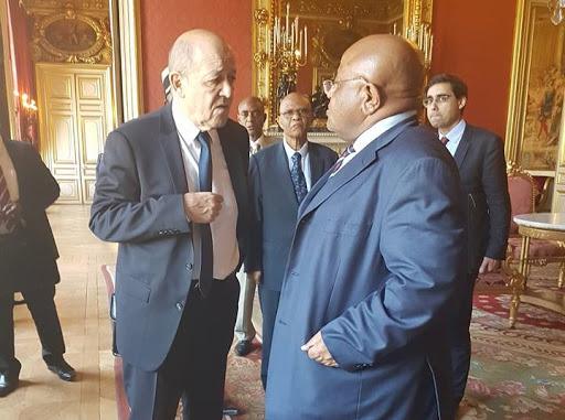 Bilan de la visite parisienne du ministre Souef Mohamed El-Amine