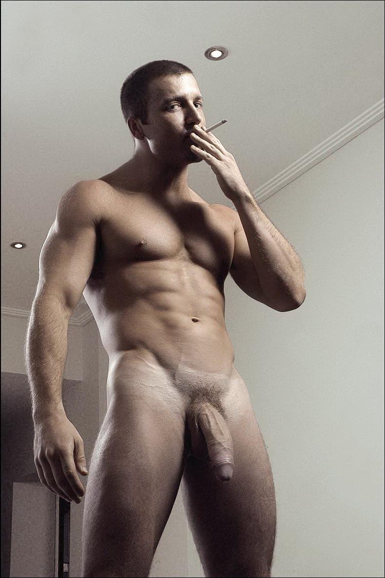 Hot Men In Their Pants Smoking Men-4864