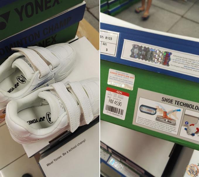 Kasut Sukan Yonex RM10 Sepasang