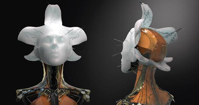 Concept arts de la película Ghost In The Shell