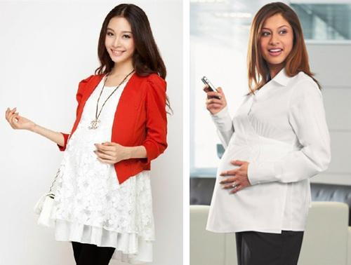 model baju hamil kantor