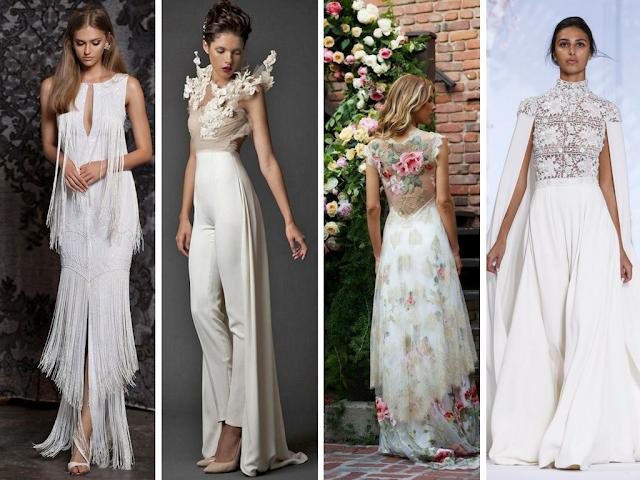 Vestidos de noiva diferentes