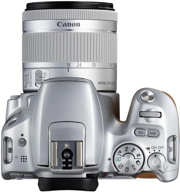Silver Canon 200D vs Canon 100D