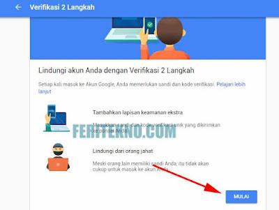 cara membuat ketika login akun gmail membutuhkan kode unik di hp untuk verifikasi 3