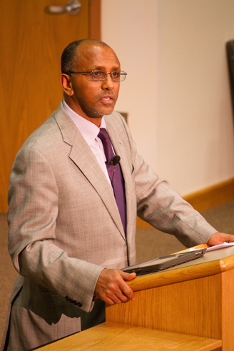 Former Prime Minister of Ethiopia Tamrat Layne Admassu will present